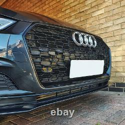 A5 Front Grill Mesh Black Grille for Audi A5 B9 Sline S5 2016-2019 RS5 Style