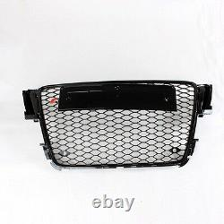 A5 Front Grill Mesh Grille for Audi A5 S5 Sline RS5 2008-11 RS5 Style Full Black
