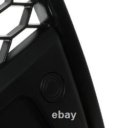 A6 To Rs6 Look Style Honeycomb Sport Black Grill Grille For Audi A6 C6 04-09
