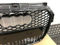 Audi A1 Grille Gloss Black Honeycomb Front Bumper Grill Rs1 Style 2010-2014