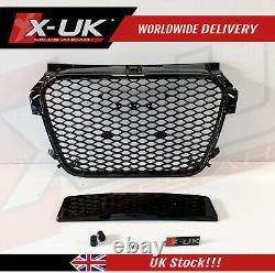 Audi A1 S1 2010-2014 RS1 look honeycomb mesh gloss black grill