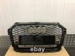 Audi A1 S1 Front Grille Front Bumper Grill Rs Style 2015-2018