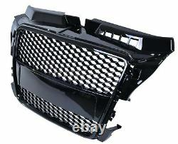 Audi A3 8P Facelift 20082012 RS Style Honeycombe Mesh Front Bumper Grille NEW