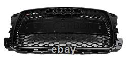 Audi A3 8P Front Grill RS Honeycomb Gloss Black Front Bumper RS3 S3 S 2008-2012