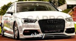 Audi A3 8V Front Grill RS Honeycomb Quattro Black Front Bumper RS3 S3 S 13-16