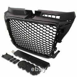 Audi A3 8p 20082012 Rs Style Gloss Black Honeycomb Upper Radiator Grille New