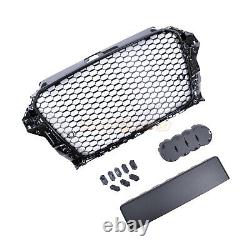 Audi A3 S3 8v 2012-2016 Rs Style Grille Gloss Black Honeycomb Radiator Bumper