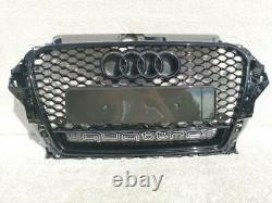 Audi A3 S3 Rs3 8v 2013-2015 Front Bumper Main Grill Rs3 Style 8vrs3-4