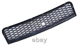 Audi A4 B6 8e 2000-2004 Rs Style Gloss Black Honeycomb Radiator Hood Grille