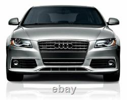 Audi A4 B8 2008-2012 Rs4 Style Gloss Black Honeycomb Mesh Front Bumper Grille
