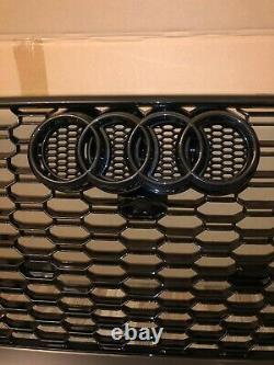 Audi A4 B9 To Rs4 Style Honeycomb Front Bumper Radiator Grill / Grill 2016+