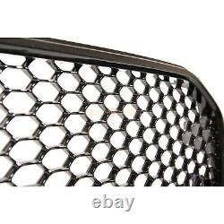 Audi A4 S4 B8 8k 2012-2016 Rs Style Grille Gloss Black Honeycomb Radiator Bumper