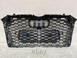 Audi A4 S4 B9 Saloon Estate 2016-2018 Front Bumper Main Grill Rs Style B9rs4-2