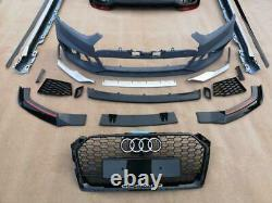 Audi A5 3 & 5 Door Bodykit 2016-20 Rs5 Style Bumpers Grill Skirts Diffuser Set