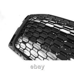 Audi A5 S5 F5 2016-2020 Rs Style Gloss Black Honeycomb Radiator Bumper Grille