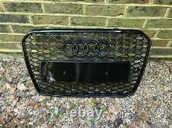 Audi A5 S5 RS5 Style Gloss Black Honeycomb Grille 12 15 B8.5 Facelift Model