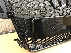 Audi A5 S5 Rs5 Style Gloss Black Honeycomb Grille 2008-2012