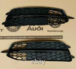 Audi A6 4G original S-Line Gitter S6 Kühlergrill Stoßstange grill bumper S6 C7