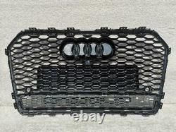 Audi A6 S6 Saloon Estate C7 Lift 2015-2018 Front Bumper Grill Rs Style 16rs6-1