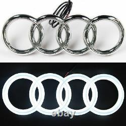 Audi Led Badge Bluetooth Emblem Light Front Grill Rgb Logo Rings Multicolor