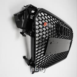 Audi Rs4 Grill A4 To Rs4 B8.5 S4 Se S Line All Black Audi Rings 12-15 Gb67 B8.5