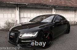 Audi S7 4G C7 s-Line OE Front bumper grill mesh ACC grille BLACK S Line A7 cover