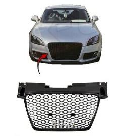 Audi TT 2008-2014 Front Main Grille Gloss Black Honeycomb RS Look New