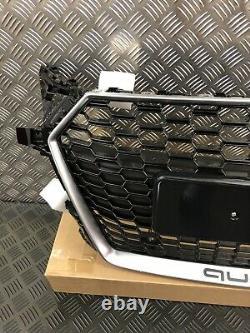 Audi TT Grille RS STYLE Honeycomb Mesh Black Fits MK3 TTS 2014-Onwards