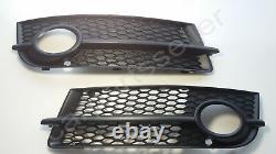 Audi TT TTS Front Bumber Fog Light Grill LEFT RIGHT LH RH Black 2006-2014 Genuin