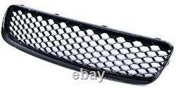 Audi Tt 8n 1998-2006 Rs Style Gloss Black Honeycomb Radiator Bumper Grille