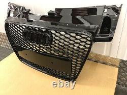 Audi Tt Rs Style Gloss Black Honeycomb Grille 2006-2014