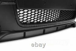 Complete S4 RS Front bumper for SE AUDI A4 B7 Full Black Grill Mesh S line