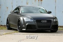 Fit for Audi TT 8J TTS 2007-2014 Black Front Bumper Grille Mesh Grill To RS