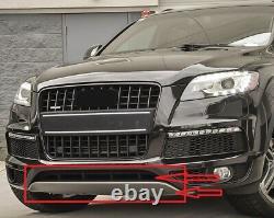 For 2010-2015 Q7 Sline Front Bumper cover lower center grille valance skid plate