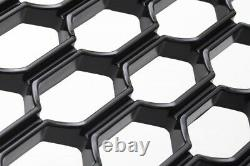 For Audi A3/S3 8V 12-16 Badgeless Mesh Grill Debadged Front Grill Emblemholder
