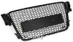 For Audi A5 B8 S5 RS5 RS Mesh Honeycomb Sport Front Tuning Grill 2007-2011
