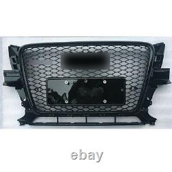 For Audi Q5 2009 10 11 12 RSQ5 Style Grille All Black Honeycomb Grill New