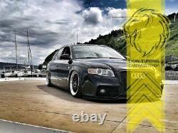 Frontstoßstange für Audi A4 B7 8E auch für S4 und S-Line Sportgrill schwarz PDC