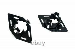 Für Audi A3 8P Facelift Wabengrill Front Grill Emblemhalter PDC 2x Simple Fix