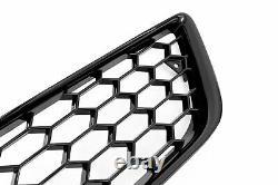 Für Audi A3 8P Kühlergrill Front Waben-Grill Emblemhalter + Lüftungsgitter 08-13