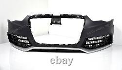 Für Audi A5 8T 12-16 RS5 -Look Frontstoßstange Kühlergrill Sportauspuff Blenden