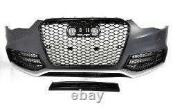 Für Audi A5 8T 12-16 RS5 -Look Heckstoßstange Frontstoßstange + Wabengrill #08