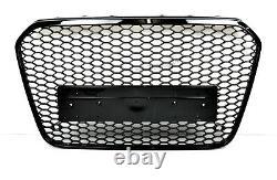 Für Audi A6 4G C7 RS6 Look Wabengrill Kühlergrill Stoßstange Diffusor11-14 Gril