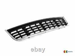 Genuine Audi A4 B6 S-line Bumper Grill Fog Light Surround Center Grill Set 3 Pcs