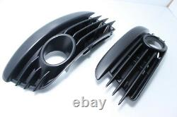 Genuine VW Golf MK5 R Line Front Bumper Fog Trims SIDE Grill LEFT and RIGHT NEW