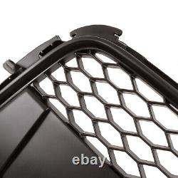 Honeycomb Debadged Badgeless Black Mesh Race Grill Grille For Audi A5 8t 08+
