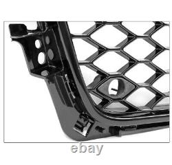 Honeycomb Sport Mesh Rs4 Style Hex Grille Grill Black For 09-12 Audi A4/s4 B8 8t