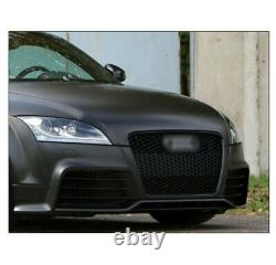 Honeycomb Sport Mesh Ttrs Style Hex Grille Grill Black For 07-14 Audi Tt 8j