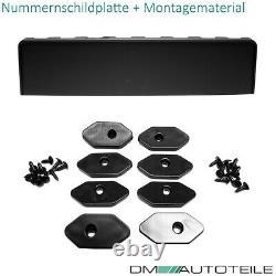 Kühlergrill Waben Grill Glanz Schwarz passt für Audi A5 B8 8T Facelift S-Line
