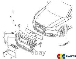 New Genuine Audi A1 2011 2014 Front Bumper Center Radiator Grille 8x08536511qp